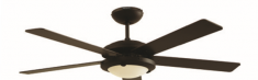 Ventilador Decorativo  Esparta 52 Maple
