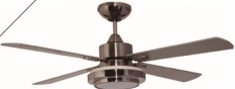 Ventilador Decorativo  Luxor  52 Chocolate