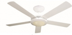 Ventilador Decorativo Esparta 52 Blanco